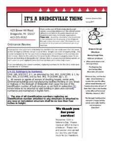 Council Meeting @ Bridgeville | Pennsylvania | United States
