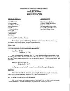 Planning Commission Meeting - CANCELED