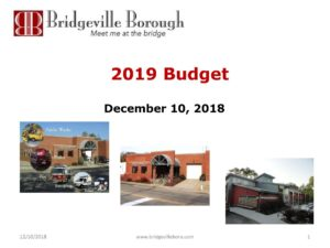 Parking Authority Meeting @ Bridgeville Borough | Bridgeville | Pennsylvania | United States