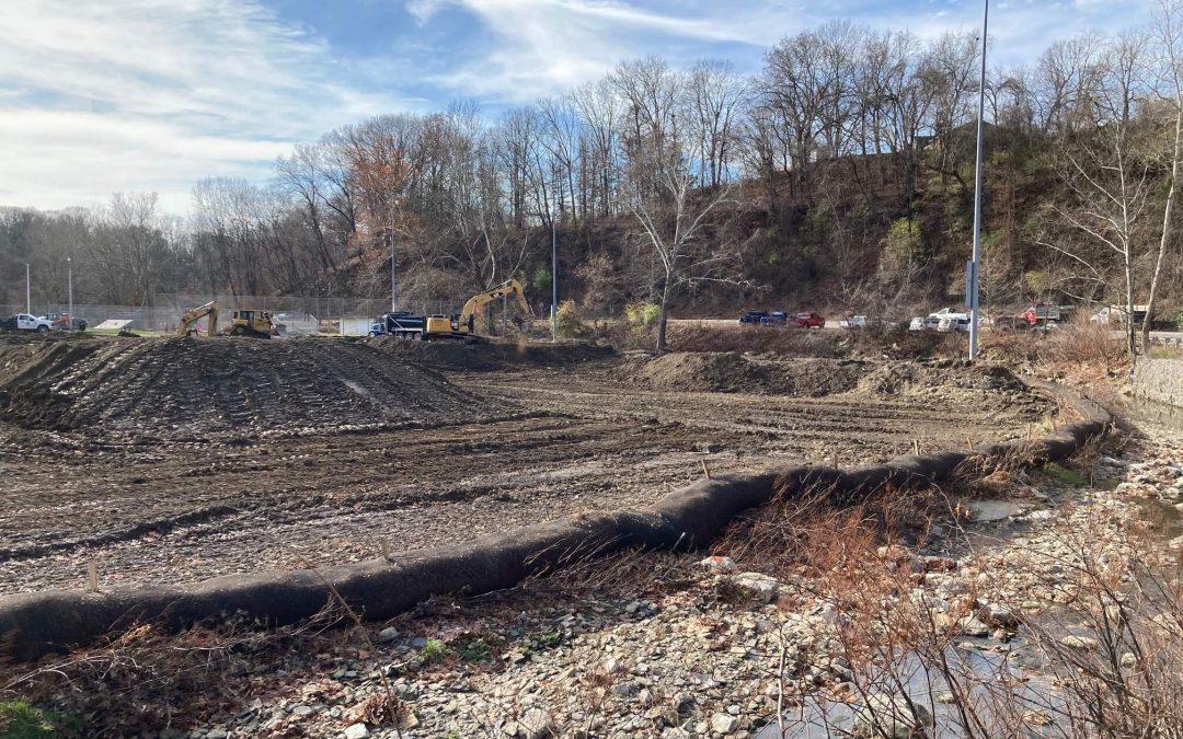 Flood Mitigation Project at McLaughlin Run Park