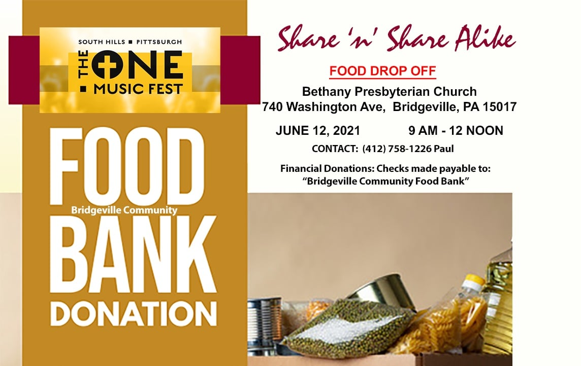 The Food Bank Donation
